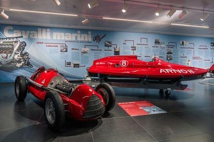Lanchas propulsadas por motores Alfa Romeo