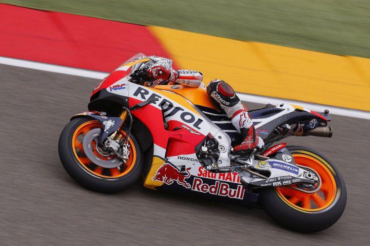 Primera línea española en MotoGP