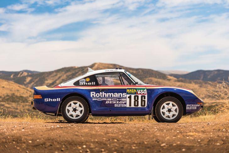 El Porsche 959 Paris-Dakar se subasta en Sotheby`s
