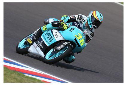 El mallorquín Joan Mir, gana en Moto3