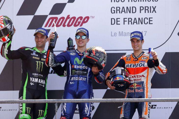Nuevo desafío tripartito: Viñales, Rossi, Pedrosa, pero...