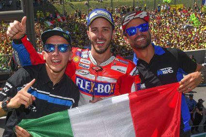 Triplete italiano en Italia