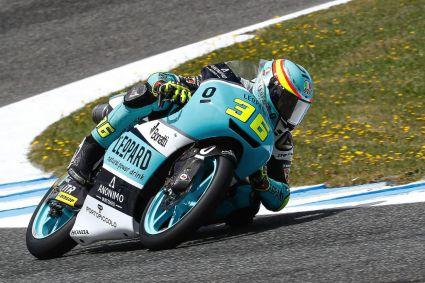 Joan Mir, quinta victoria y más líder en Moto3