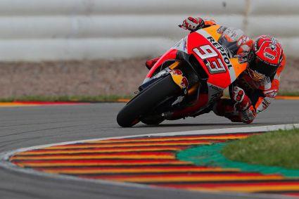 Márquez, gana en Sachsenring y lidera el Campeonato