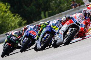 Rossi, Pedrosa, Márquez y Pedrosa, dicen: