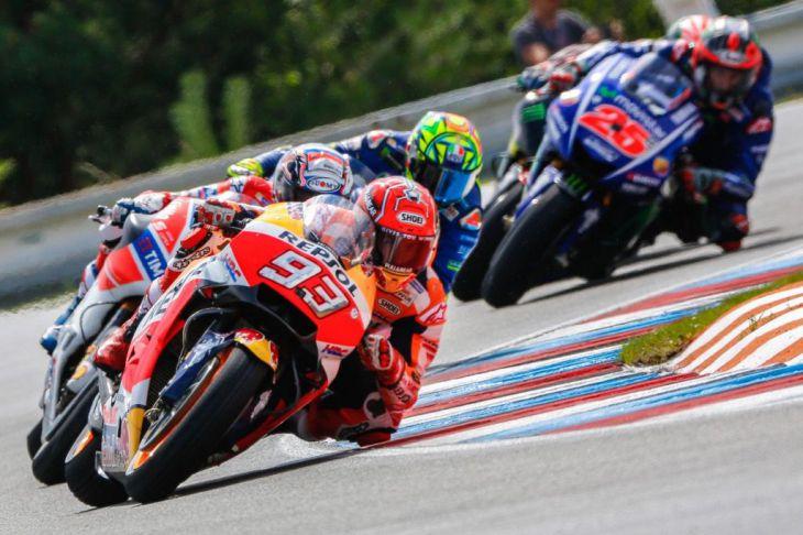 Márquez, Dovizioso, Viñales, Rossi, Pedrosa y Lorenzo, dan su opinión sobre el GP de Inglaterra