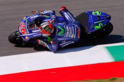 Viñales, Dovizioso y Márquez ocupan la primera línea de MotoGP