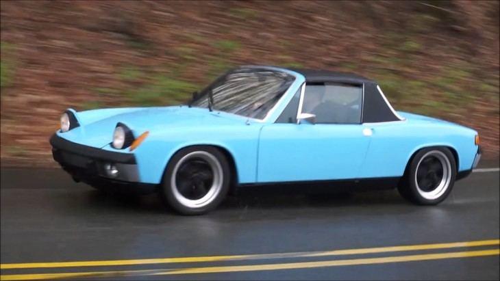 El Porsche 914 cumple cincuenta años