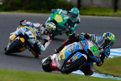 Mir y Morbidelli ganan en Moto3 y Moto2, respectivamente