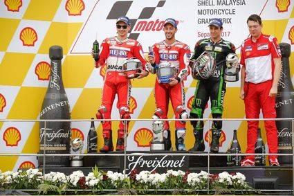 Victoria de Dovizioso y título en Valencia