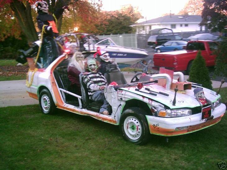 Los coches de Halloween