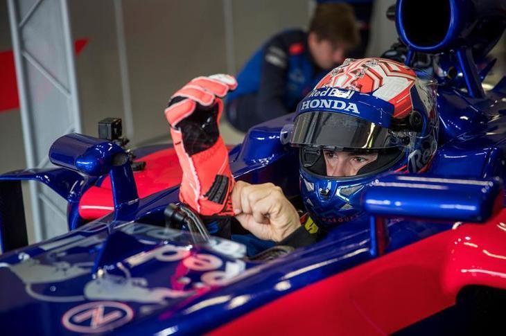 Marc Marquez se sube a un Toro Rosso de 2014