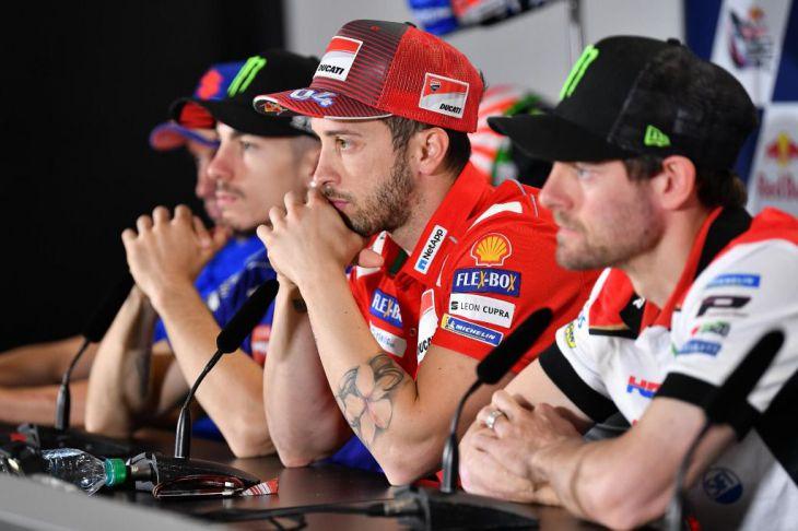 Rossi tiene la intención de hablar con Márquez