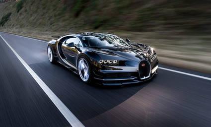 Bugatti Chiron: ¡0-320 km/h en 16 segundos!