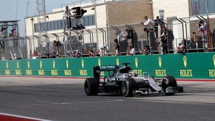 Sensacional carrera de los espa�oles con Hamilton ganador