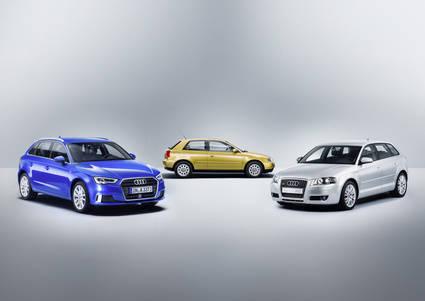 Audi A3, 20 años y tres generaciones