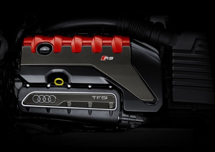 El 2.5 TFSI de Audi, nombrado
