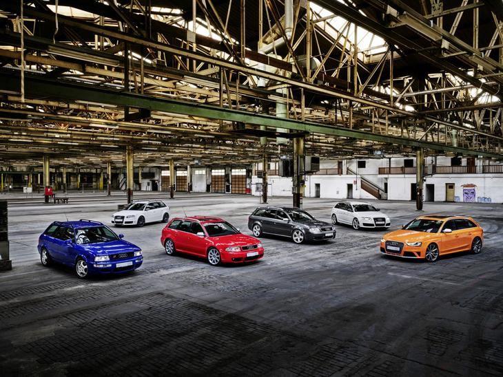 Audio Sport celebra 25 años de las versiones Audi RS