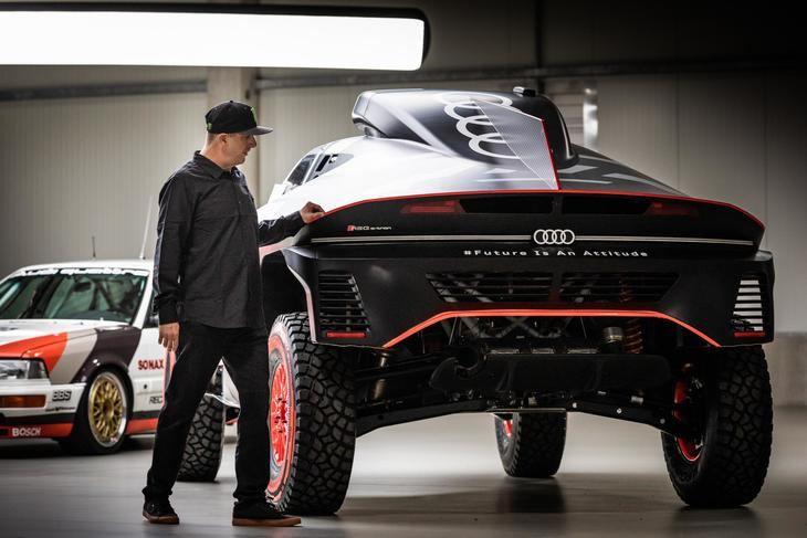 Audi ficha a Ken Block para un futuro electrizante