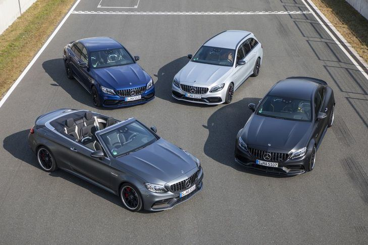 Los Mercedes C63 AMG se renuevan