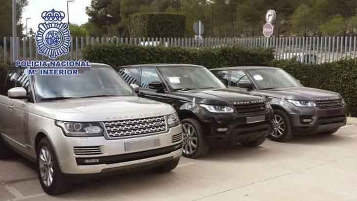 Los coches más robados