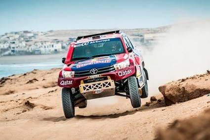 Al-Attiyad en coches y Prince en motos ganan en Marruecos