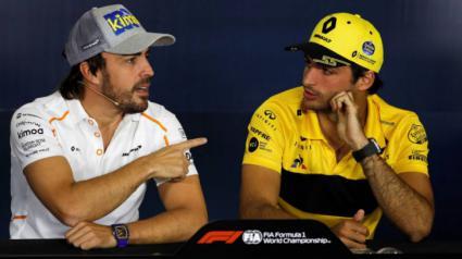 Carlos Sainz firma un acuerdo con McLaren