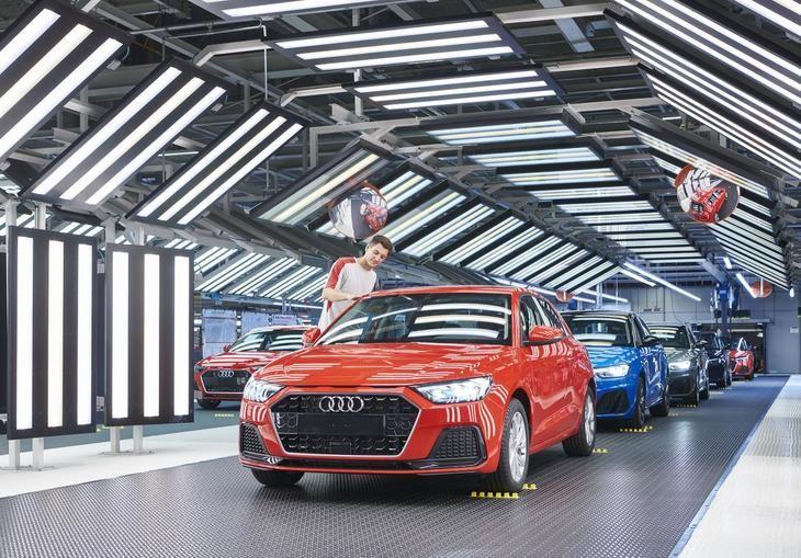Los Audi se fabrican en Martorell