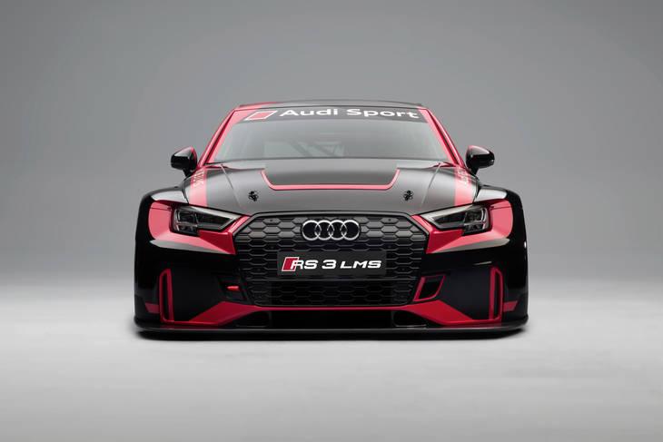 Nueva versión de competición del Audi RS3 LMS