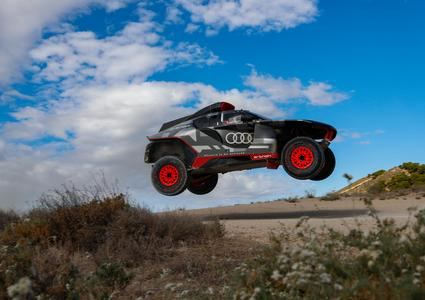 El nuevo Audi RS Q e-tron se pone a punto en España