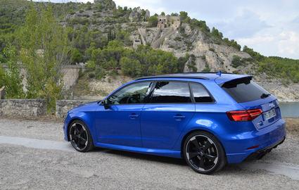 Prueba Audi RS3 Sportback, el compacto más poderoso del mercado.