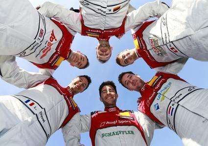 Audi confirma a sus 6 pilotos para el DTM 2019