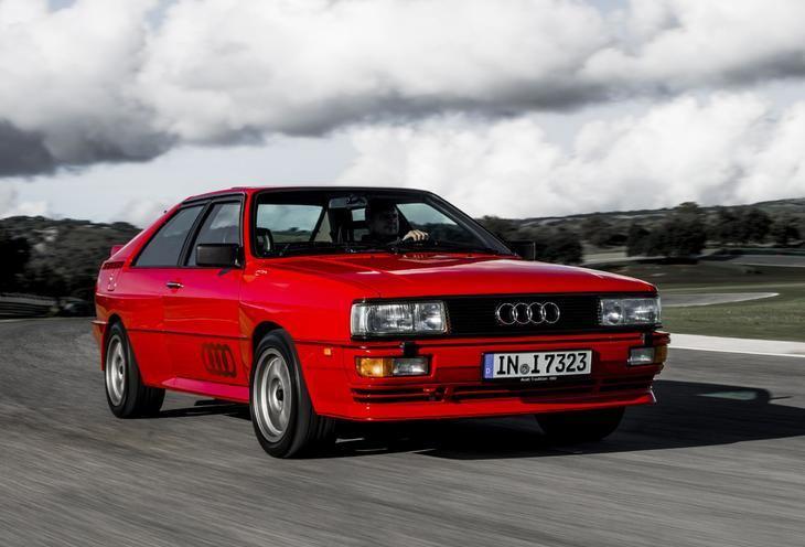Audi quattro, un coche de leyenda