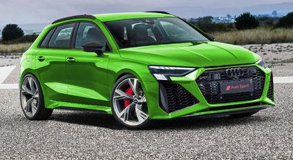 Futuro Audi RS3 con 450 CV