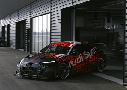 Audi RS 3 LMS preparado para competir en el TCR