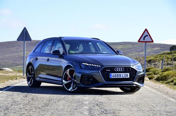 Probamos el Audi RS4 Avant 2020