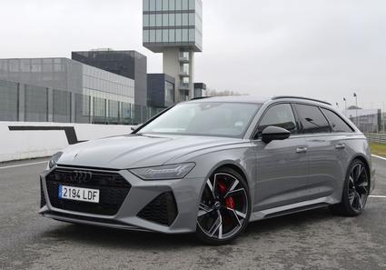 Probamos el Audi RS6 Avant mucho más que un familiar