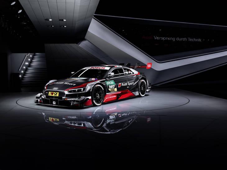 Audi RS 5 DTM con el motor potenciado