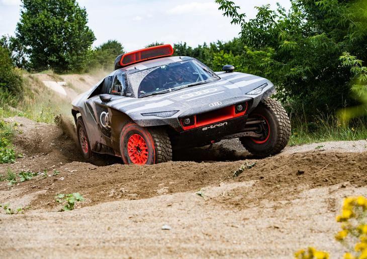 El nuevo Audi RS Q e-tron comienza a rodar