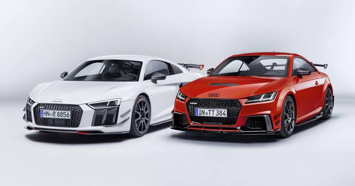 Audi R8 y Audi TT mejorados con Audi Sport Perfomance Parts