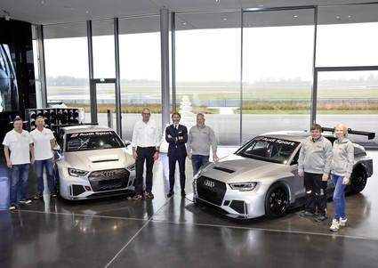 Audi Sport entrega las primeras unidades del Audi RS3 LMS