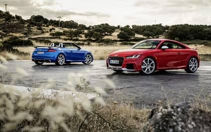 Los nuevos Audi TT RS Coup� y Roadster con 400 caballos