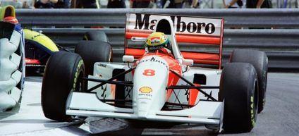 El McLaren de Senna se subastará en Mónaco