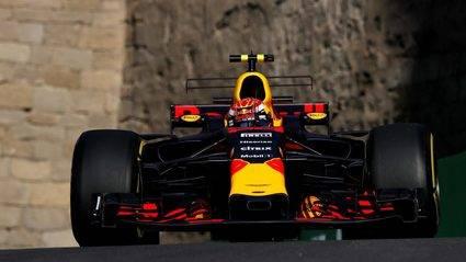 GP de Azerbaijan: Verstappen el más rápido del viernes