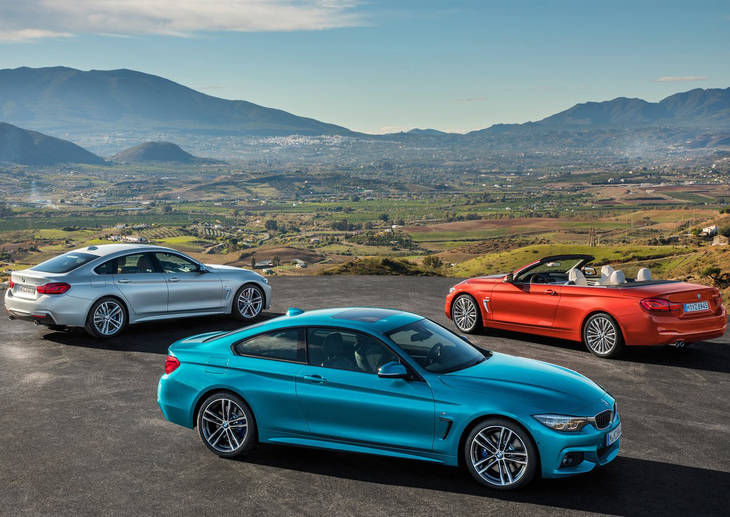 La gama serie 4 de BMW se renueva