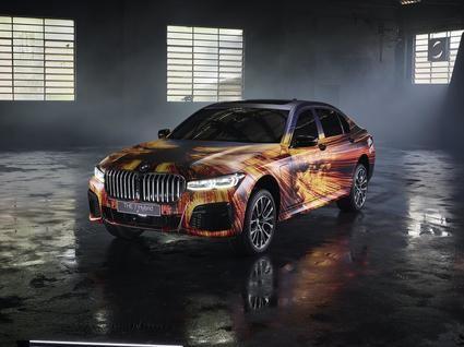 El BMW 745Le M Sport 2020 nombrado 'Art Car'