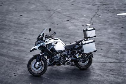 BMW R 1200 GS con conducción autónoma.