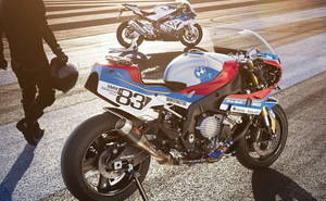 Una BMW S1000 RR de aspecto retro