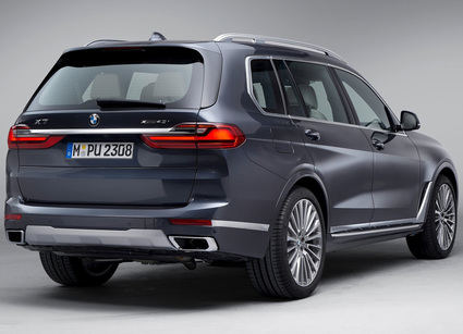 El primer BMW X7 en marzo de 2019