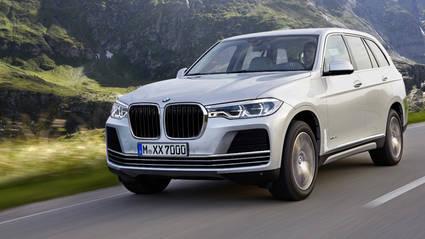 BMW X7 listo para finales de 2018